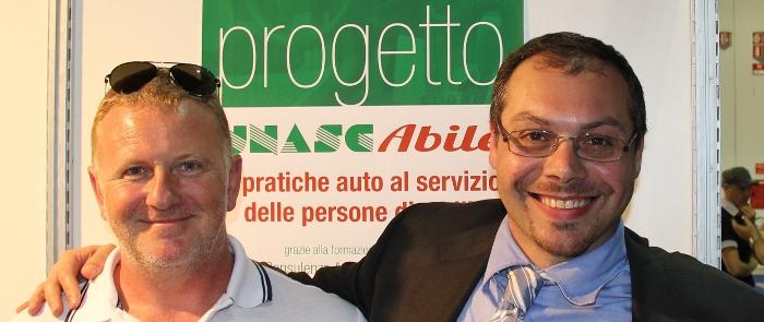 Riccardo Marchesini, gruppo azzurro della paracanoa testimonial UNASCABILE