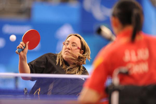 Pamela Pezzutto, tennistavolista della Polisportiva San Giorgio