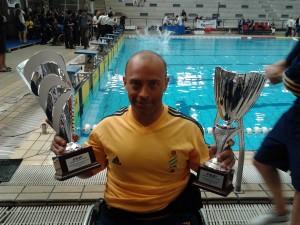 Luca Galimberti testimonial UNASCABILE Galimberti pratica il nuoto e la canoa