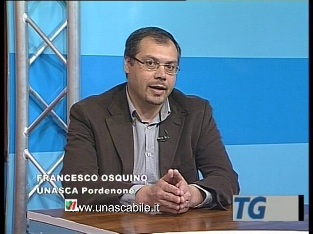 Francesco Osquino - intervista tv UNASCABILE