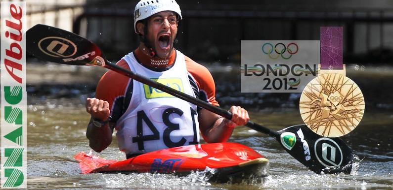 Daniele Molmenti Oro Londra-2012 testimonial Unascabile