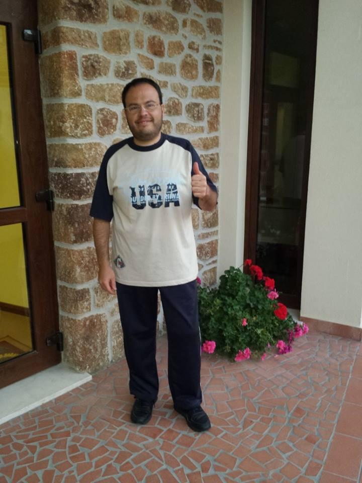 """Roberto Camelia, 38enne di Siracusa, è il primo arbitro nella storia della boxe italiana autorizzato a salire sul ring con protesi alla gamba. """"Mi sono avvicinato a questo sport grazie a mio padre, grande appassionato."""