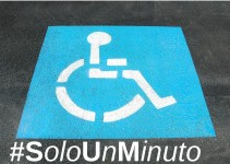 #SoloUnMInuto - parcheggio disabili